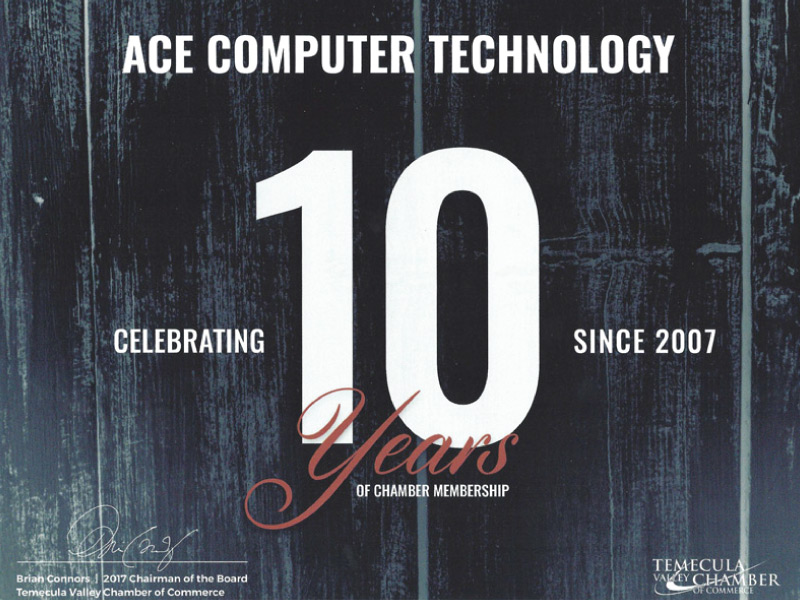 Temecula-Chamber-ACE-Computer-Technology-Certificate